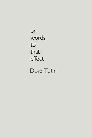 Or words to that effect