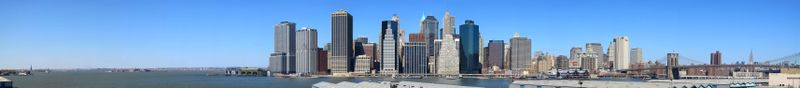 Manhattan-skyline-panorama