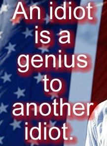 Idiot-genius