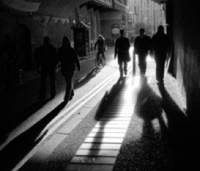 Black,white,city,cycling,dark,london,people,shadows,street,walking-8d2cc5604b8ec0d54c9d62c59233f12f_m